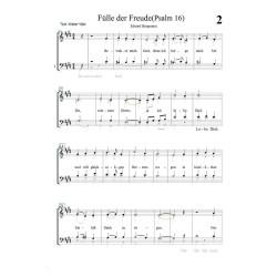Fülle der Freude (Psalm 16)